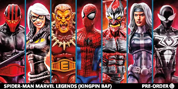 Spider-Man Marvel Legends (Kingpin BAF)