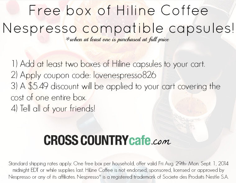 FREE box of Nespresso compatib...