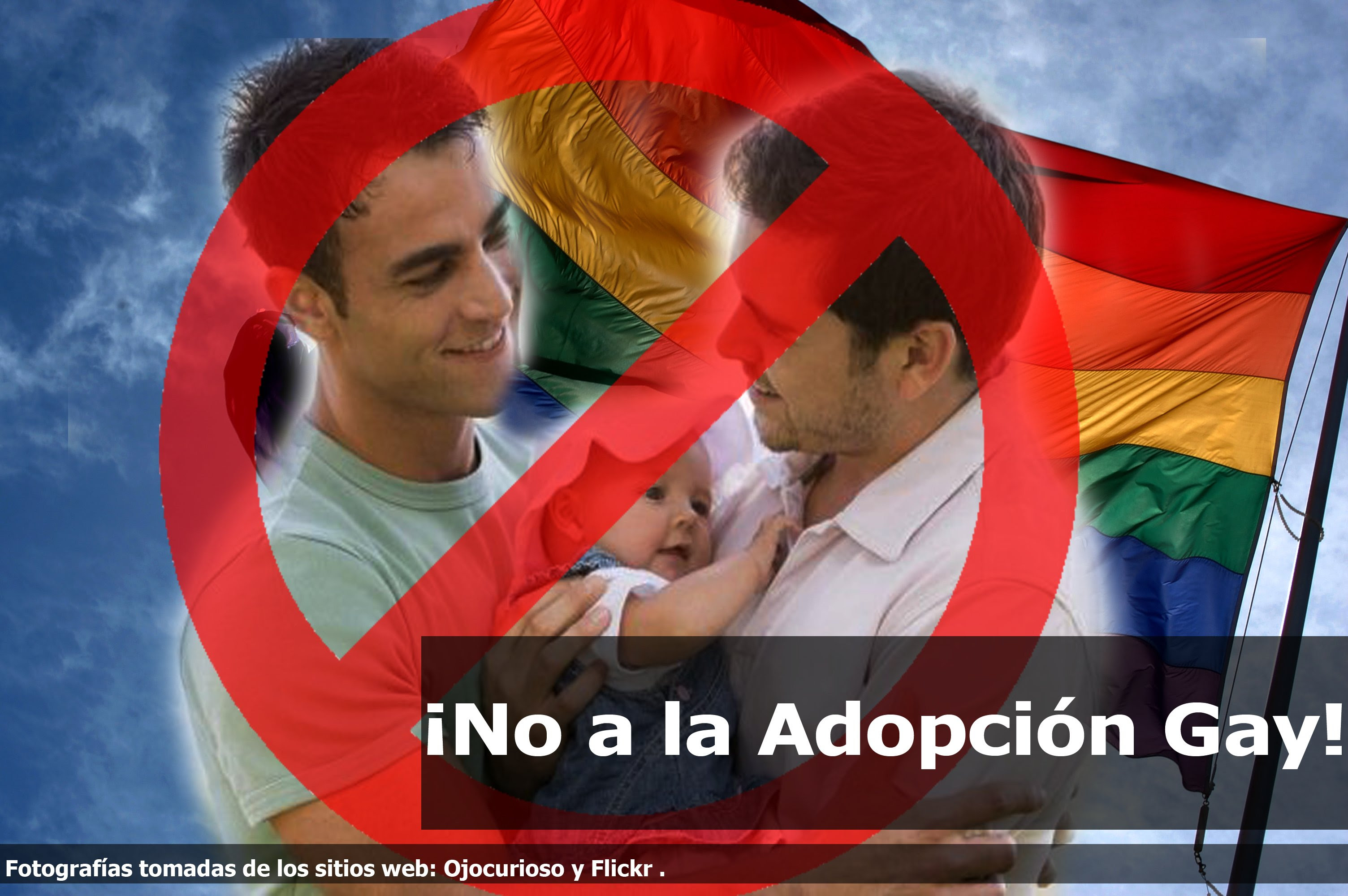 Resultado de imagen para familia gay con adopción