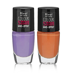 "Rival de Loop ""Colour Star"" Sand-Effekt Nagellack"