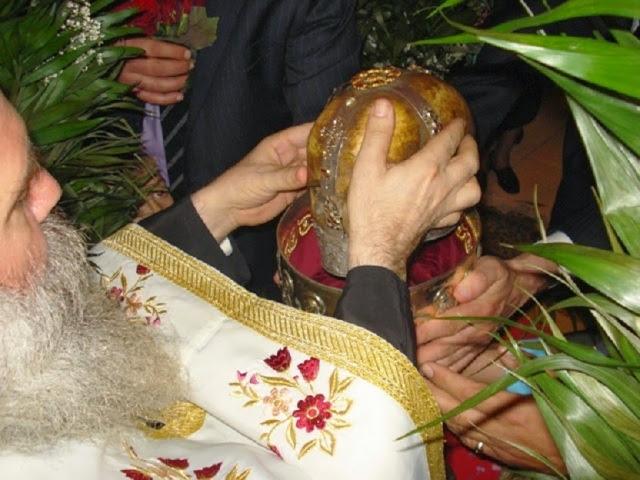 H Τιμία Κάρα του Αγίου Αποστόλου Θωμά. http://leipsanothiki.blogspot.be/