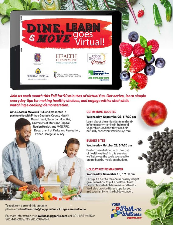 Dine Learn & Move