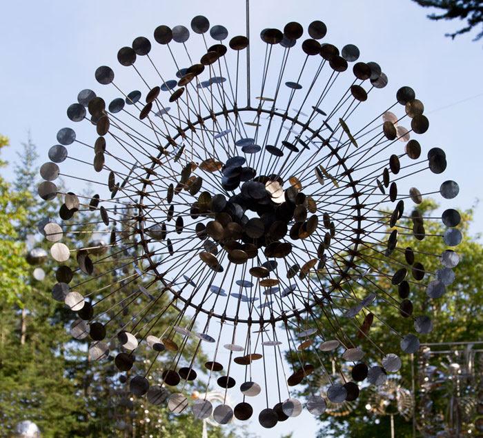 sculpture kinetique scifi 13 Les sculptures cinétiques dAnthony Howe  sculpture featured bonus art