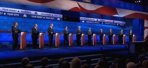 10 Republican debaters picture