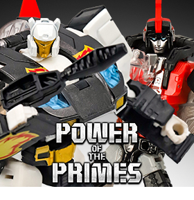 TRANSFORMERS POWER OF THE PRIMES DELUXE SWOOP & RICOCHET EXCLUSIVES