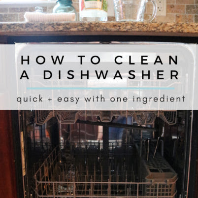 A Guide To Clean The Dishwasher