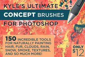 KYLE'S CONCEPT BRUSHES FOR PHOTOSHOP
