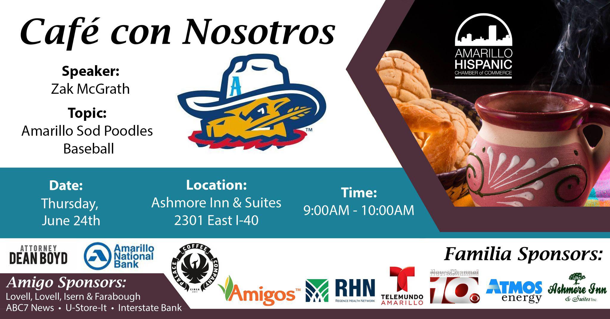 Café Con Nosotros @ Ashmore Inn & Suites