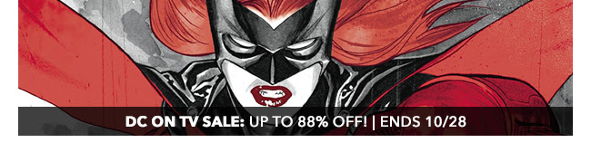 DC on TV Sale: up to 88% off! | Ends 10/28