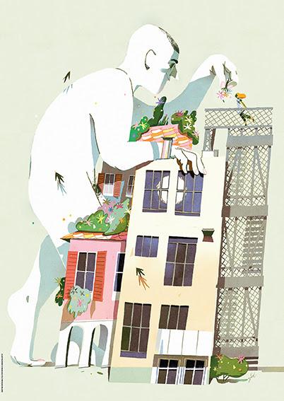Illustrazione Gianluca Folì_magazine BASE Milano