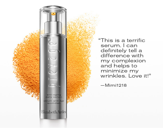 """""""This is a terrific serum. I can definitely tell a difference with my complexion and helps to minimize my wrinkles. Love it!"""" -Mimi1218"""