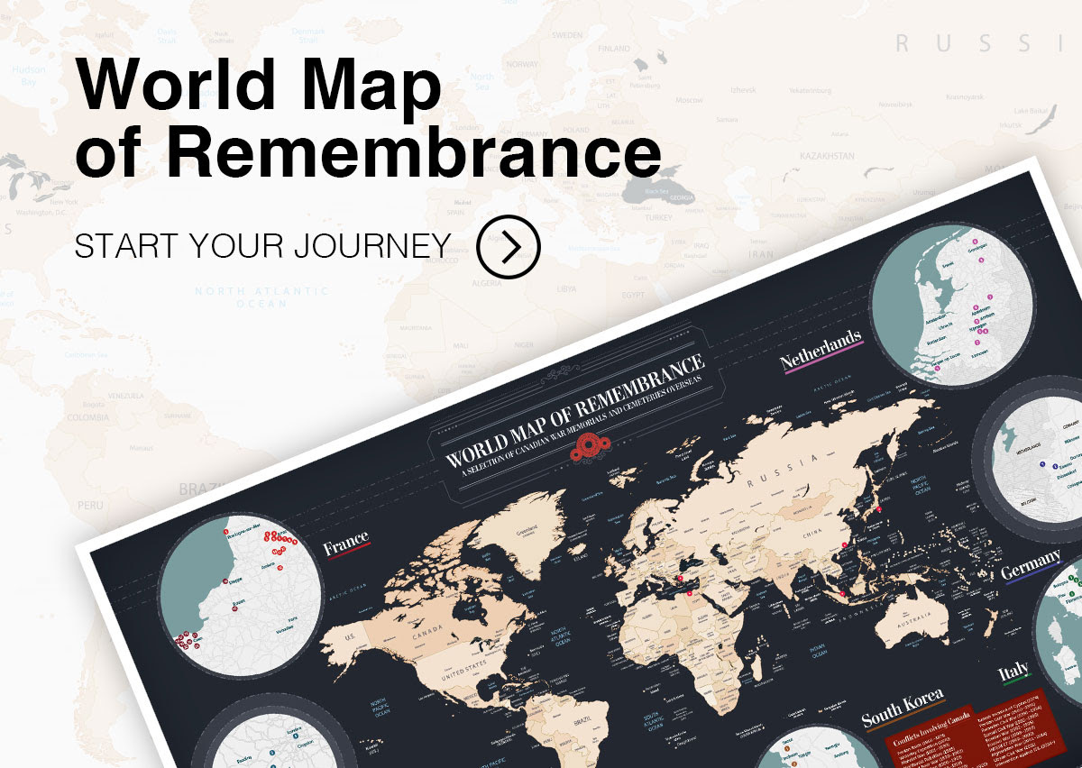 World Map of Remembrance