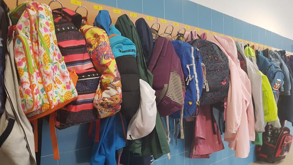 Escuela mochilas