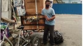Grupo cria carroça elétrica para ajudar catadores de reciclagem