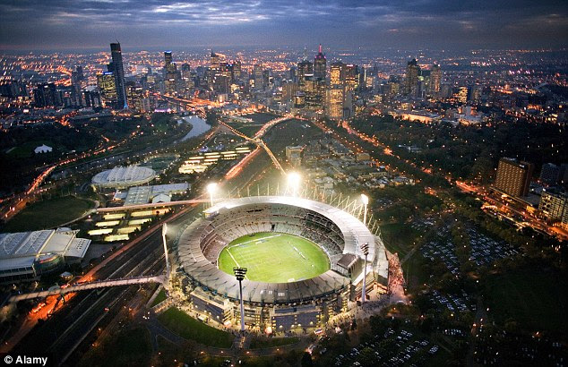 Melbourne cricket ground (pictured), one of Australia's most popular venues. Australia topping the world as the best country to live