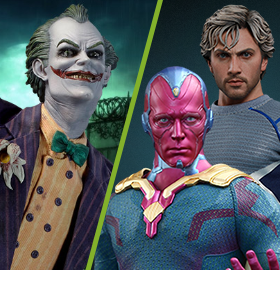 NEW SIDESHOW AND HOT TOYS