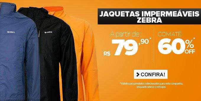 Jaquetas impermeáveis Zebra