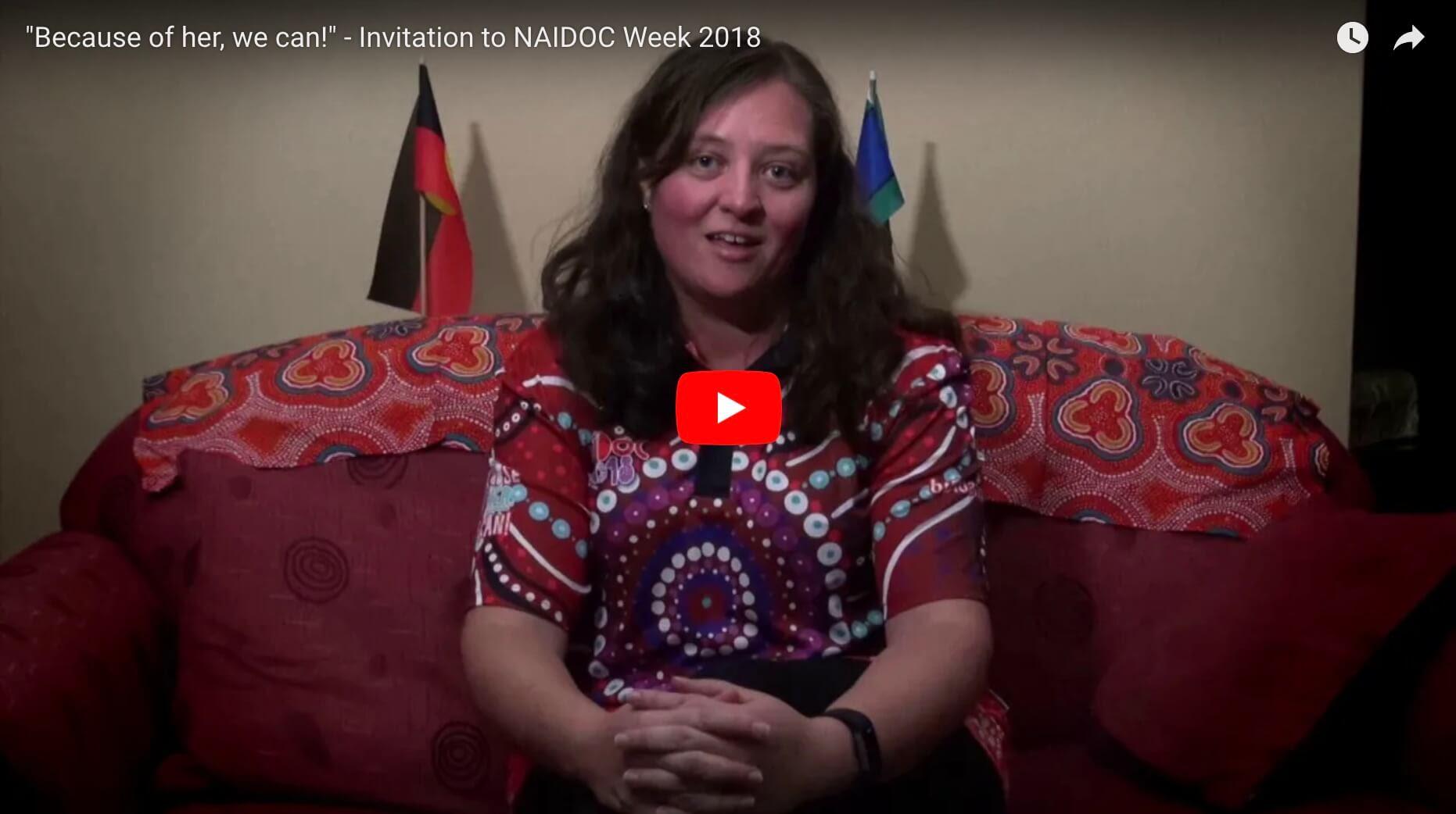 Video: Brooke Prentis invites us to NAIDOC Week