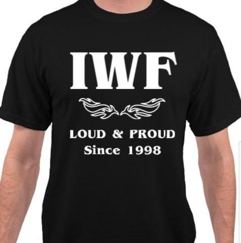 New IWF Wrestling Tour T-Shirt