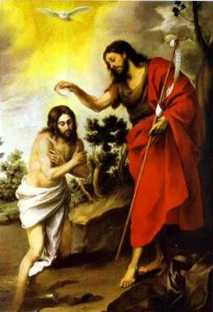 Trójca Święta - chrzest Jezusa w Jordanie