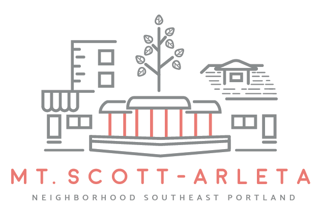 Image of the Mt. Scott-Arleta Neighborhood Association logo.