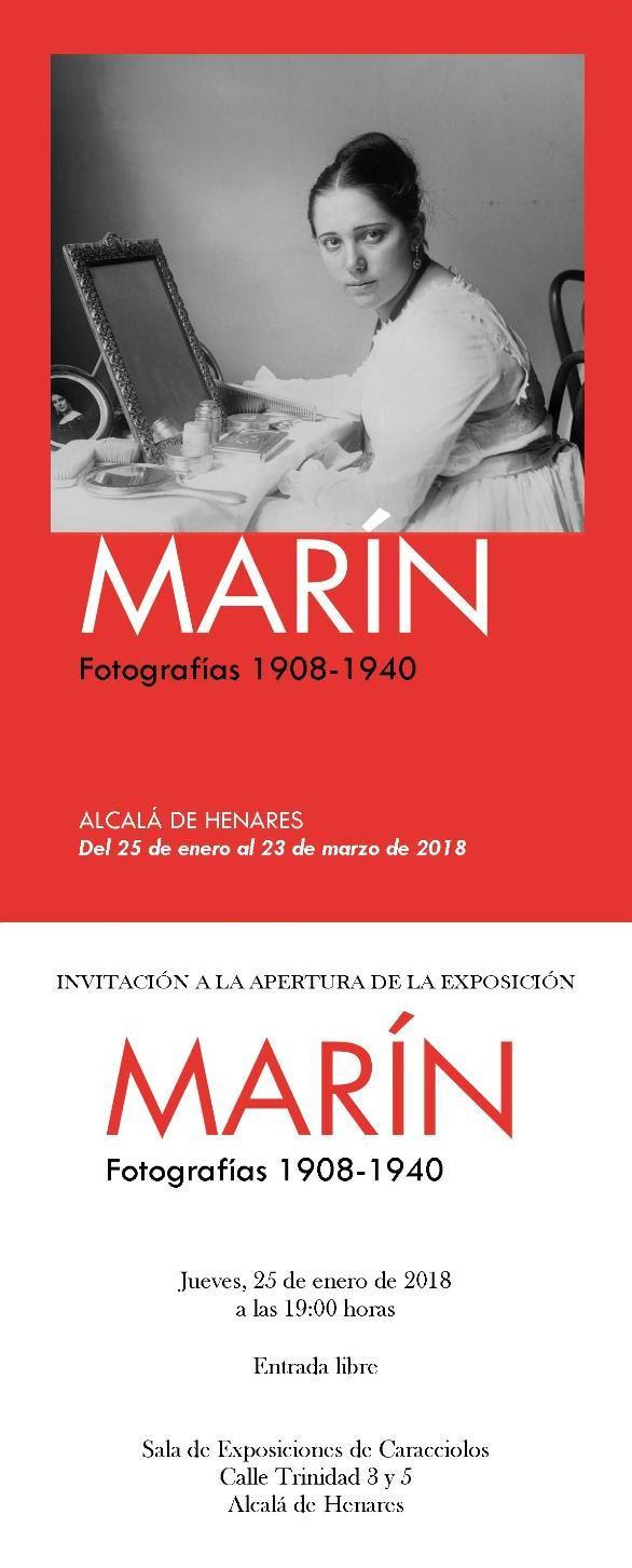 Marín. Fotografías 1908-1940. Alcalá de Henares
