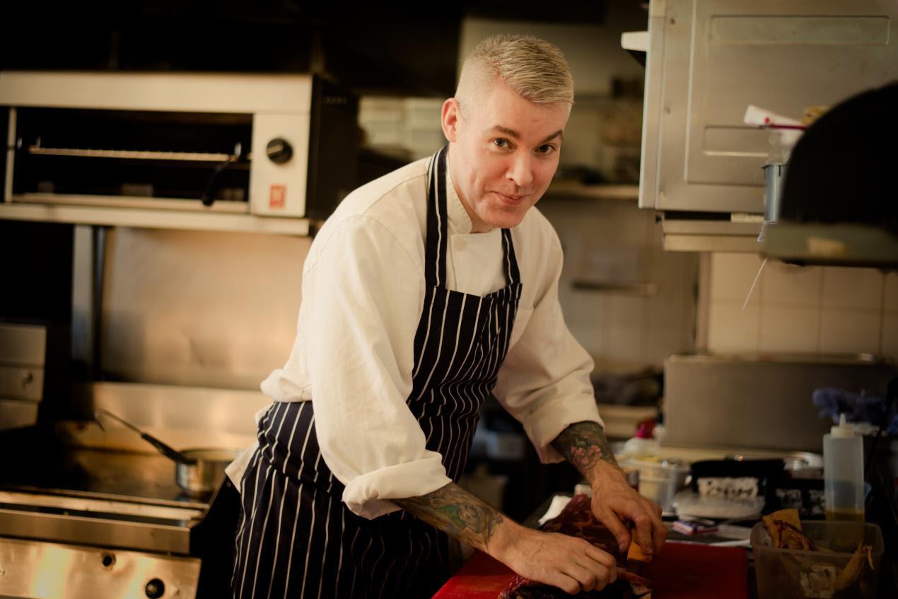 Cahernane House Hotel Herbert Restaurant head chef Eric Kavanagh