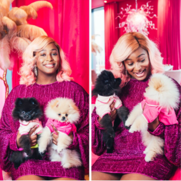 """""""People are sending my dogs their account details"""" DJ Cuppy reveals"""