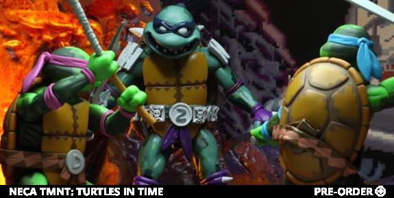 NECA TMNT: Turtles in Time