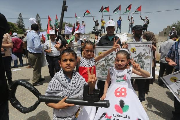 El dolor de la Nakba: Los jóvenes palestinos 'nunca renunciará' al sueño del retorno