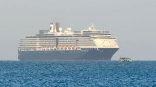 Cruise ship Westerdam