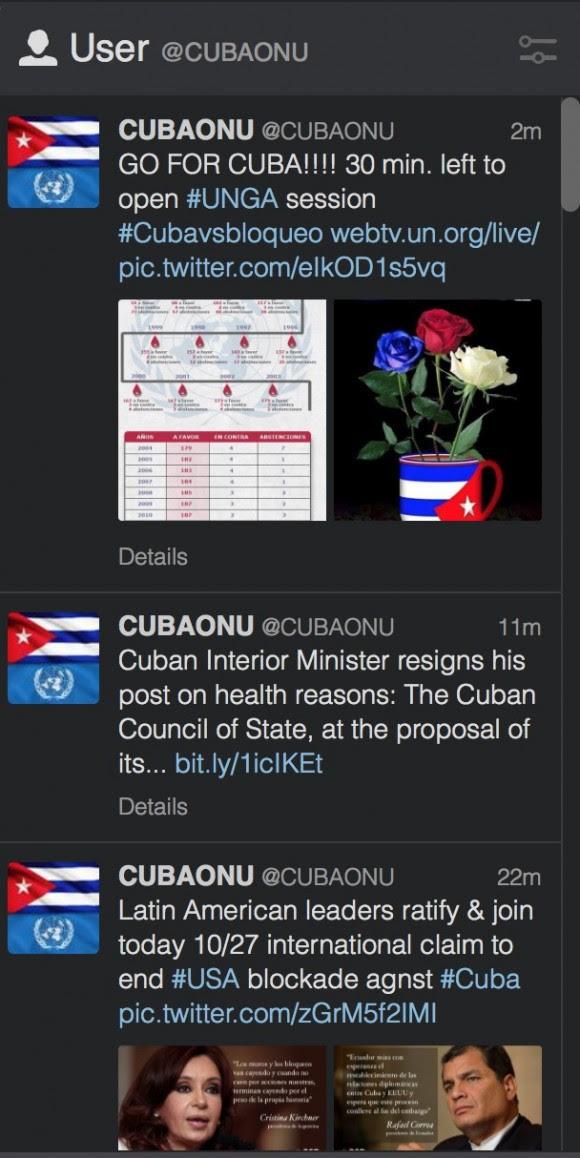 pagina onu cubana