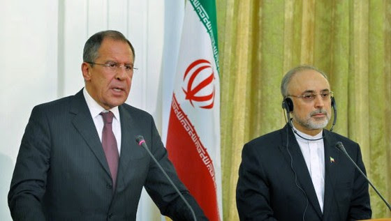 00 Foreign Minister Sergei Lavrov and his Iranian counterpart Ali Akbar Salehi. 06.12