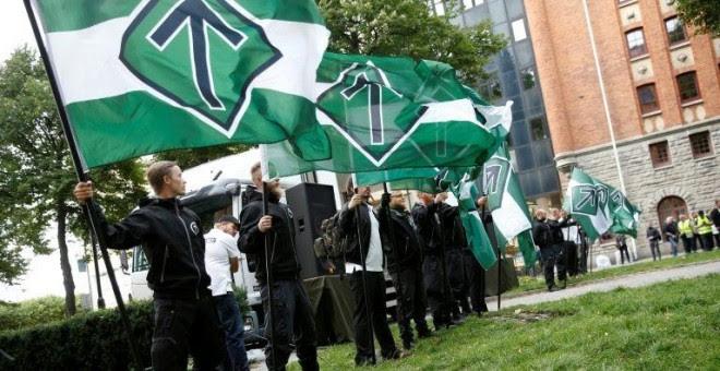 El grupo neonazi Movimiento de Resistencia Nórdico