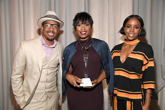 Nick Cannon, Jennifer Hudson and Kelly Rowland attend the 2016 March of Dimes Celebration of Babies: A Hollywood Luncheon in LA