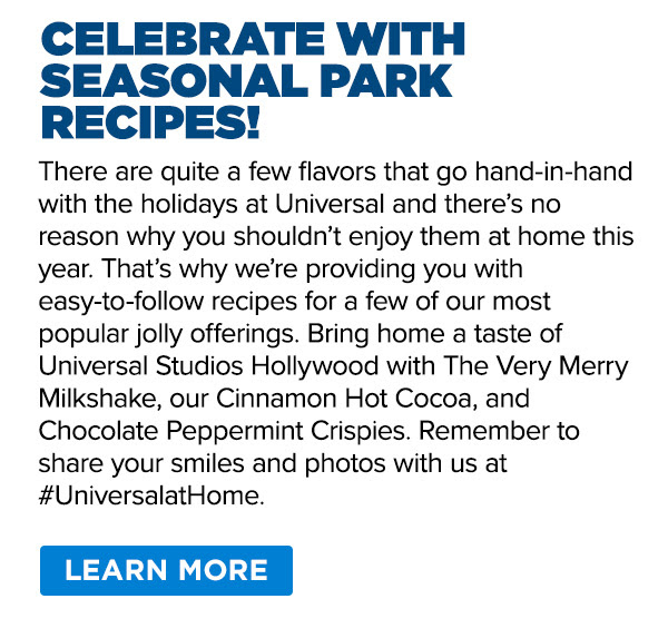 Celebrate with Seasonal Park Recipes!