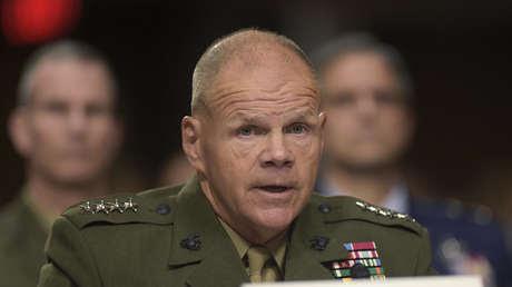 Comandante de la Infantería de Marina de EE.UU., Robert Neller.