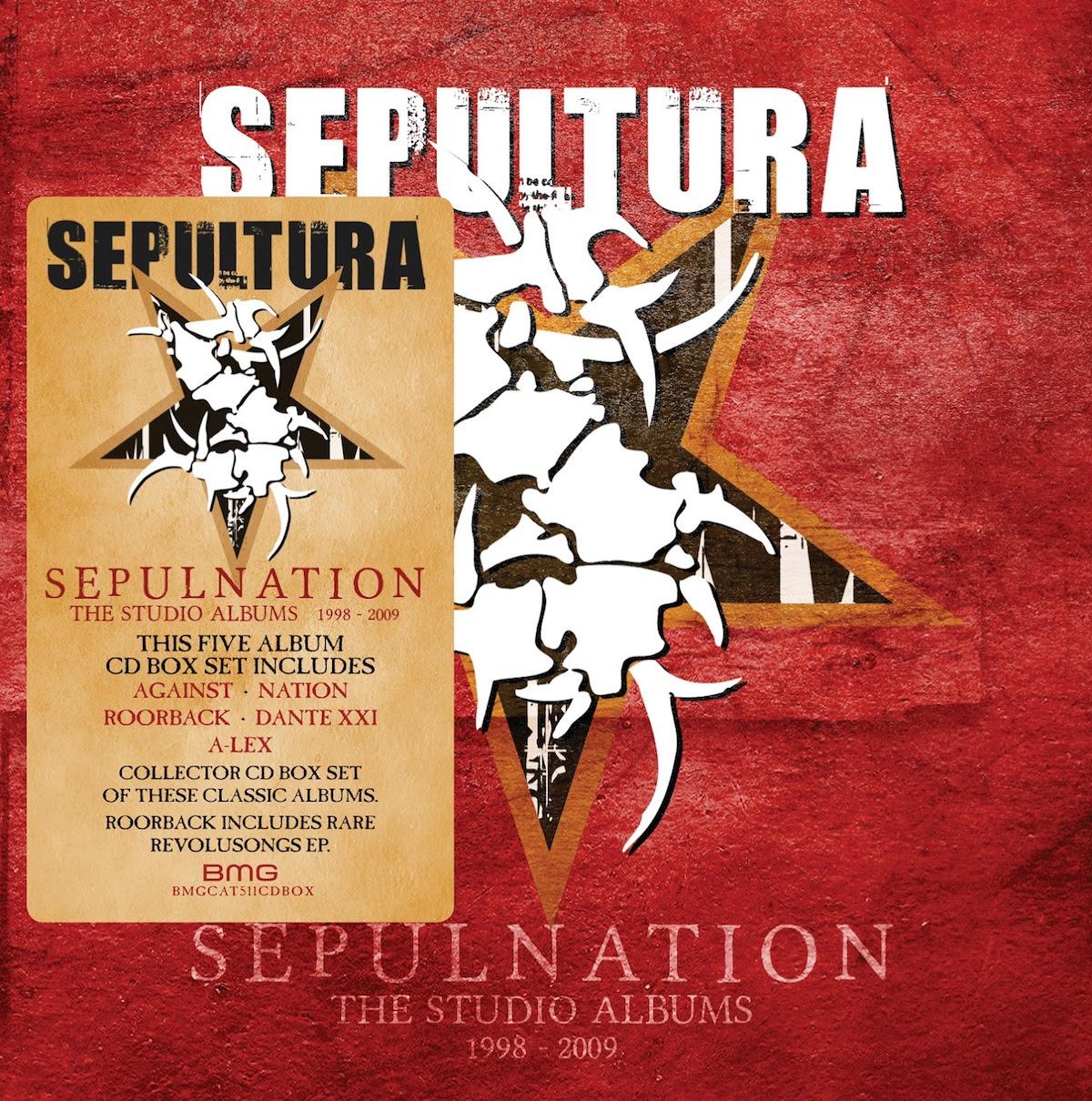"""Sepultura: annunciato il nuovo boxset """"Sepulnation - The Studio Albums  1998-2009"""" - truemetal.it"""