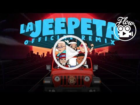 Nio Garcia x Brray x Juanka x Anuel AA x Myke Towers - La Jeepeta Remix (Lyric Video)