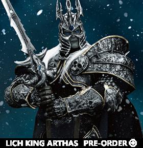 World of Warcraft Dynamic 8ction Heroes DAH-020 Lich King Arthas