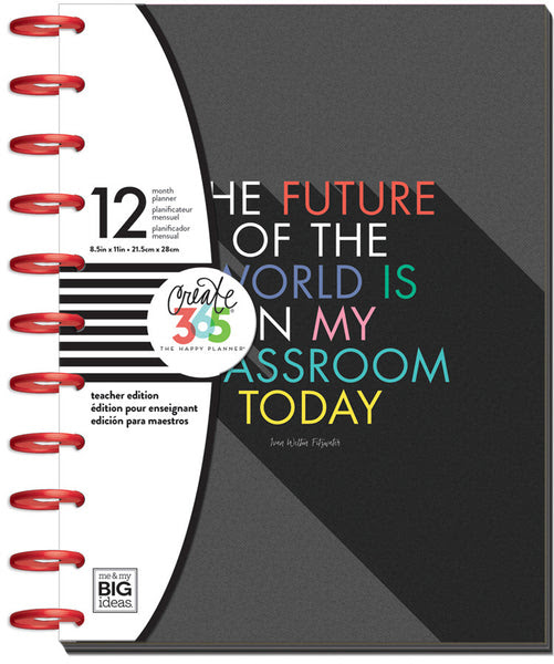 The Happy Planner® - BIG Teacher Edition - The Future