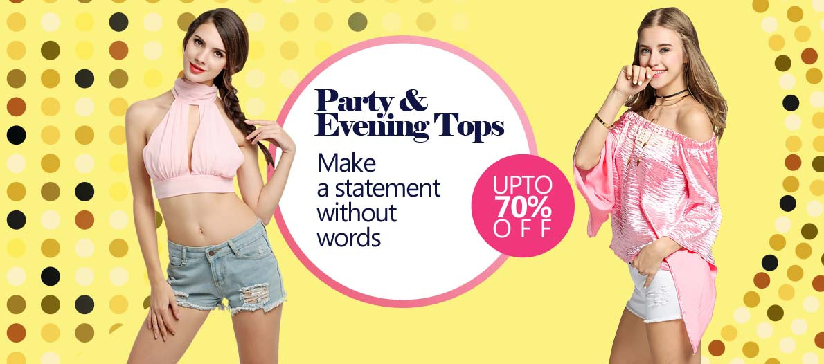 Party & Evening Tops