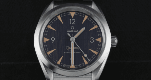 Omega Railmaster Co-Axial