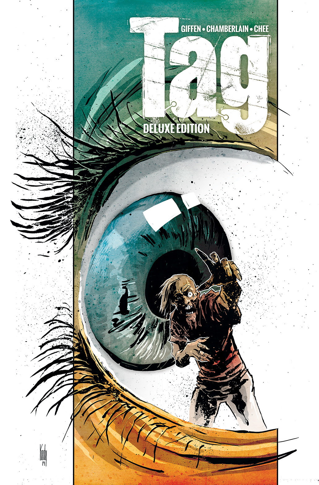 TAG DELUXE EDITION TP Cover by Kody Chamberlain
