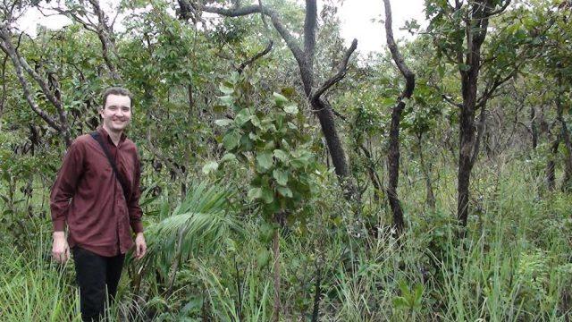 """""""O trabalho da Rede de Sementes de Cerrado chega a Mato Grosso para reforçar as atividades exercidas por outras redes - como a do Xingu e Portal da Amazônia"""", destaca o biólogo Ingo Isernhagen, pesquisador da Embrapa Agrossilvipastoril."""