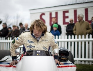 FREDDIE HUNT IN A HESKETH: LIKE FATHER, LIKE SON