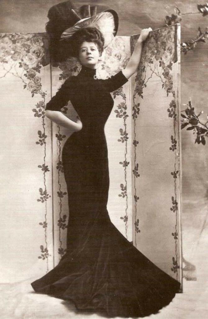 Красавицы начала XX века,- Камилла Клиффорд (1885-1971)