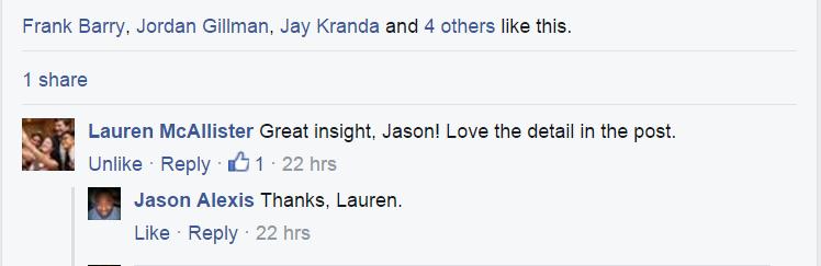 Lauren's quote