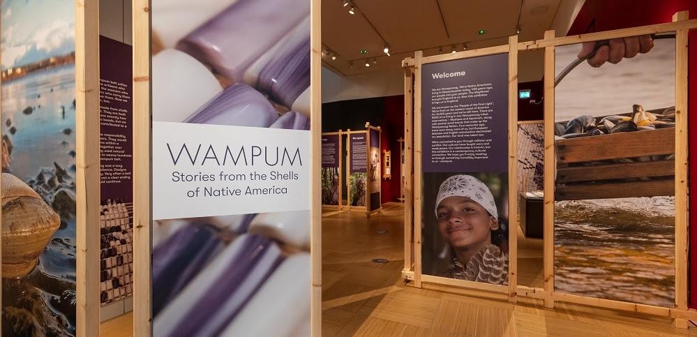 Wampum exhibition