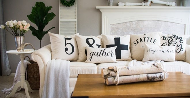 Farmhouse Pillow Covers + More...
